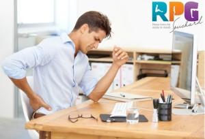 Má Postura no Trabalho Também é Causa de Doenças